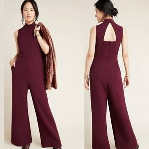 NWT ANTHROPOLOGIE CHARLEY MOCK NECK JUMPSUIT